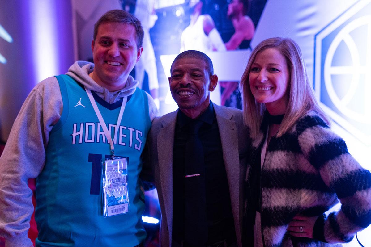 NBA All Star Meet and Greet