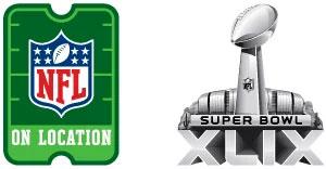Super Bowl Logo XLIX
