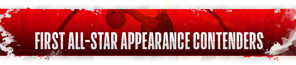 NBA First Appearance Contenders