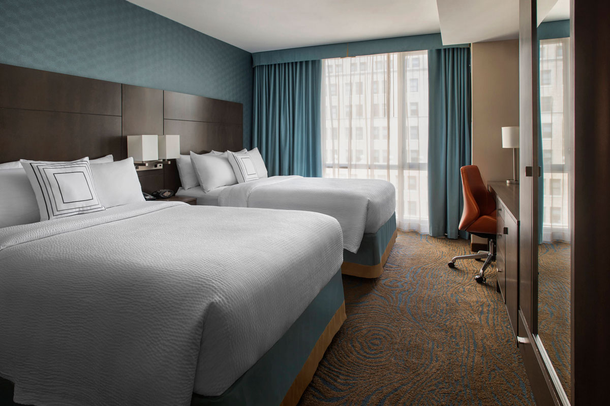 interior of Courtyard by Marriott New York Manhattan/Chelsea belmont experiences accommodations