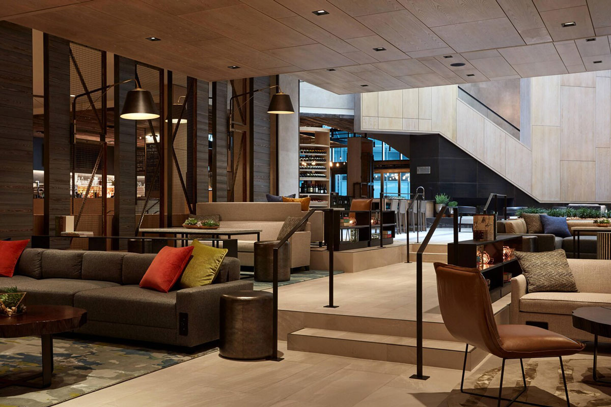 front entrance of the doubletree nyc financial district presidents cup experiences accommodation