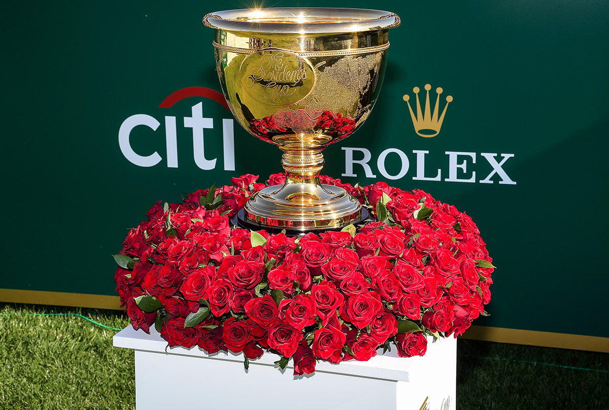 presidents cup trophy