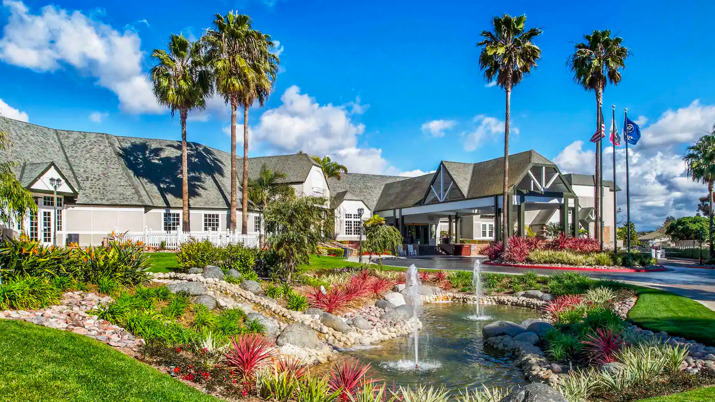 Breeders' Cup Experience accommodations Hilton San Diego Del Mar exterior