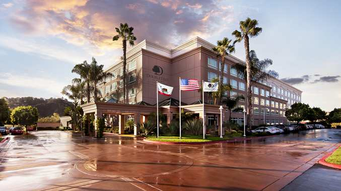 Breeders' Cup Experience accommodations DoubleTree Del Mar exterior