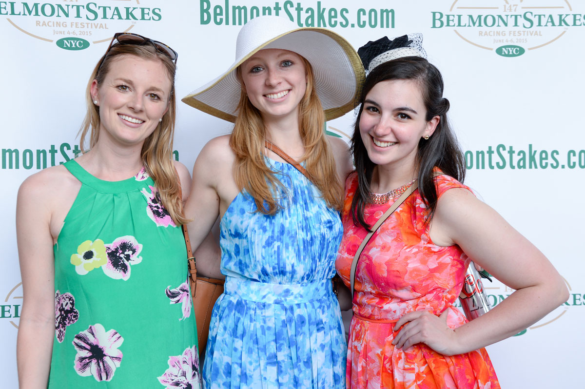 group photo at belmont stakes