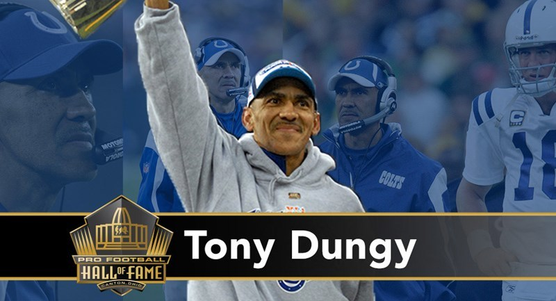 Pro Football Hall of Fame Class of 2016 Highlight: Tony Dungy