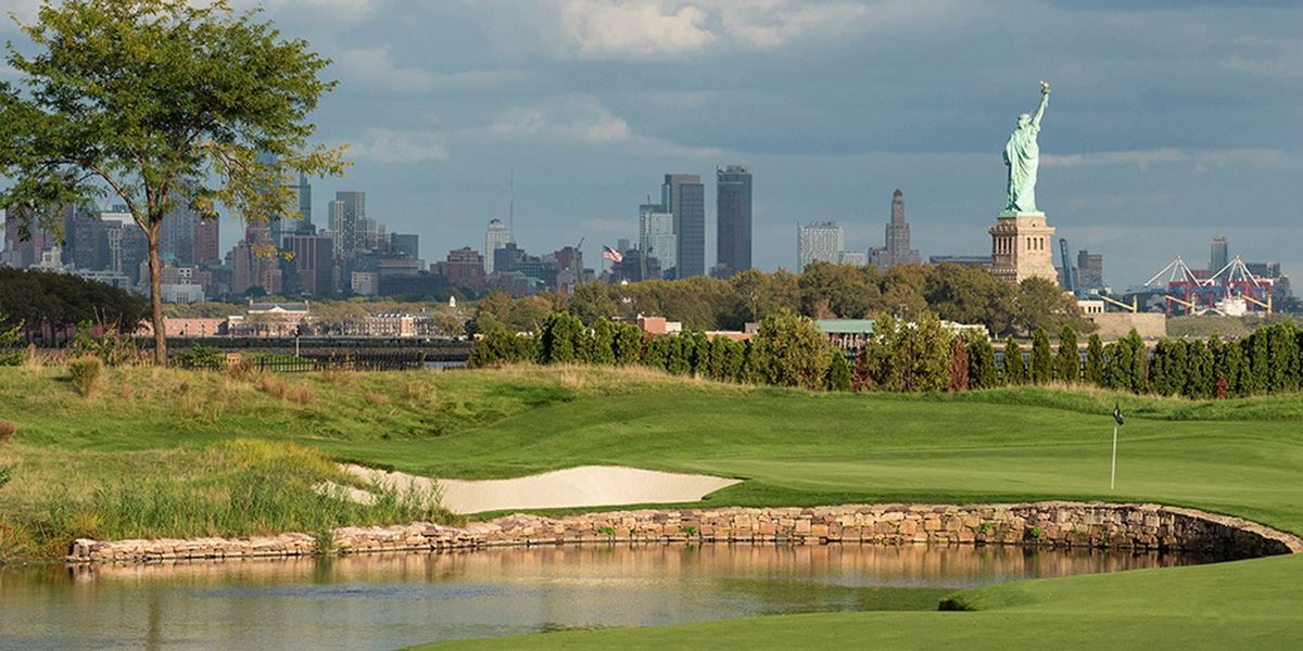 Liberty National Golf Course Manhattan Skyline