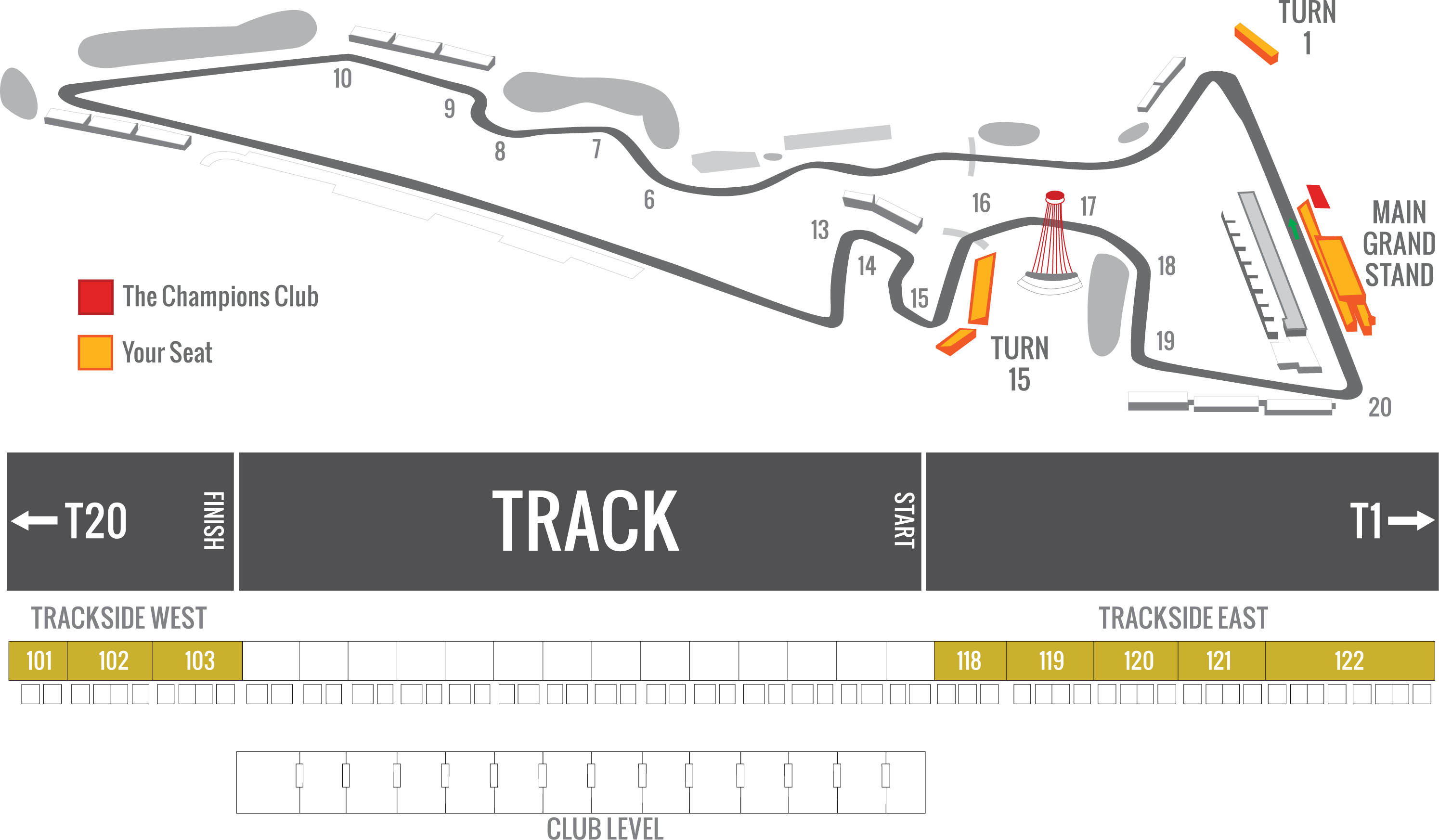 2018 F1 Usgp Tickets Multi Turn Official Ticket Package