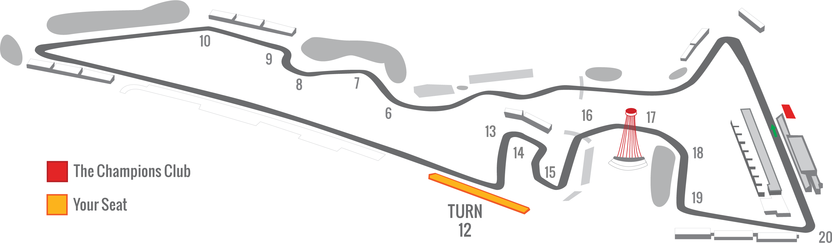 2019 f1 usgp tickets turn 12 official ticket package