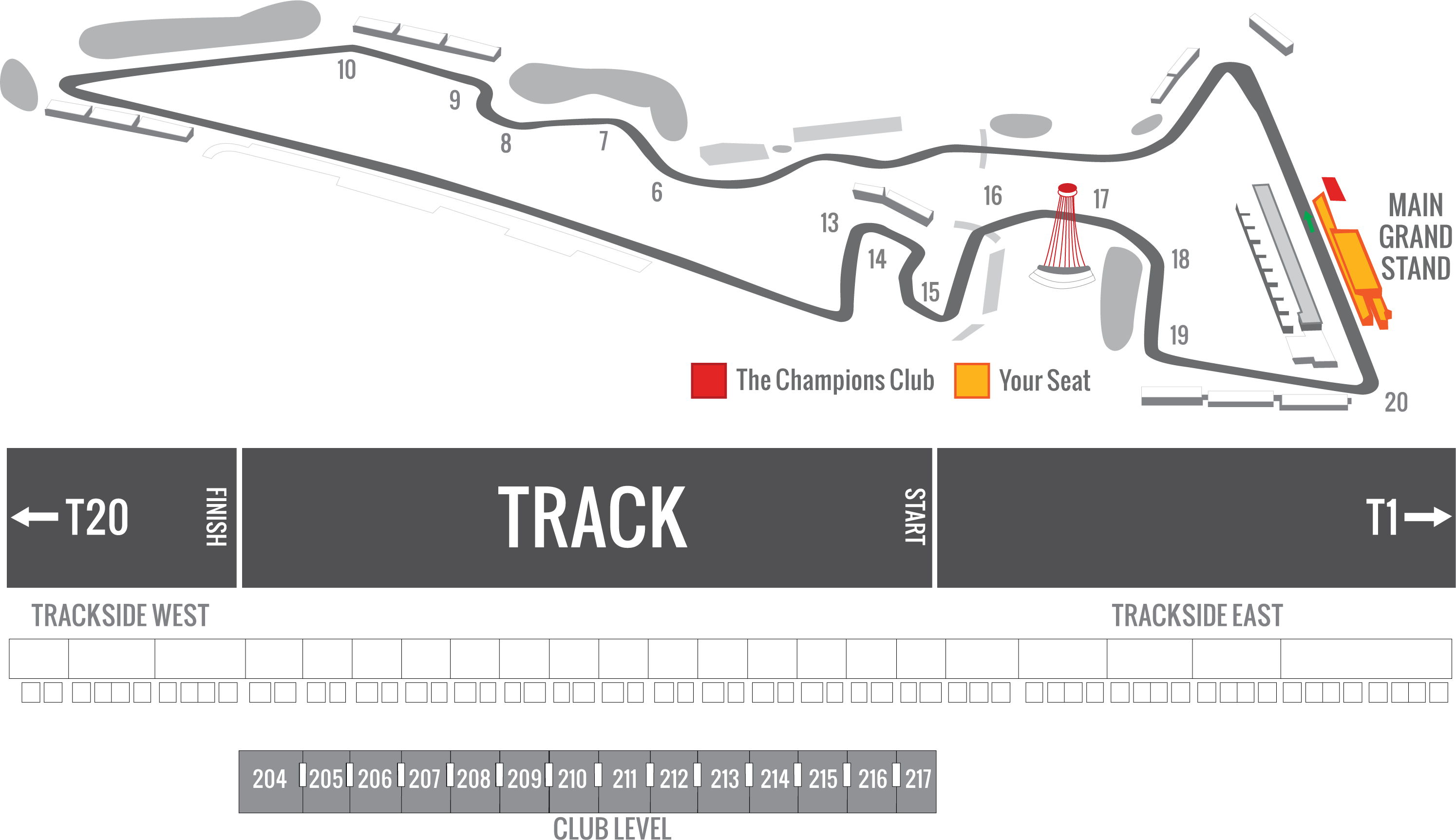 2019 F1 USGP Tickets | Platinum Official Ticket Package
