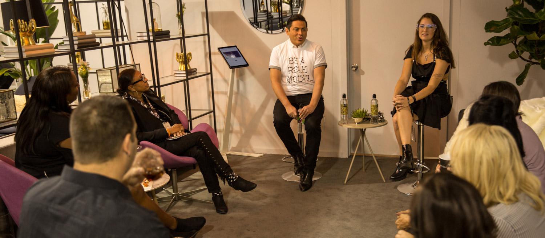 speaker at new york fashion week