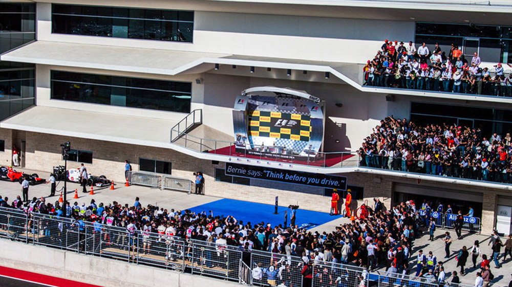 2018 F1 Usgp Tickets Platinum Official Ticket Package
