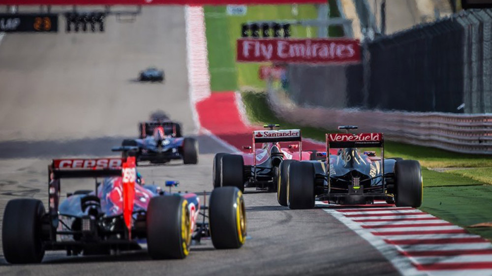 Formula 1 returns to the United States at the Circuit of the Americas
