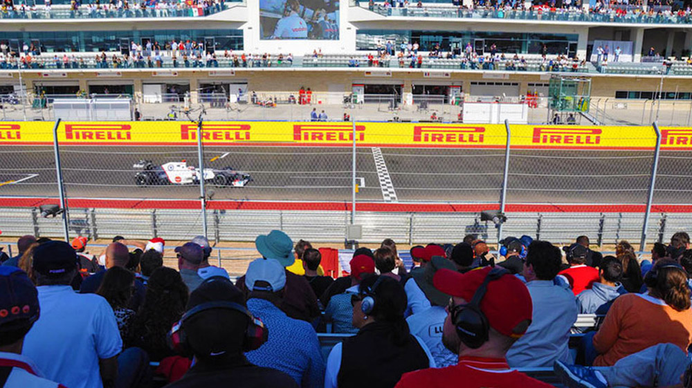 2017 F1 USGP Tickets | Gold B Official Ticket Package