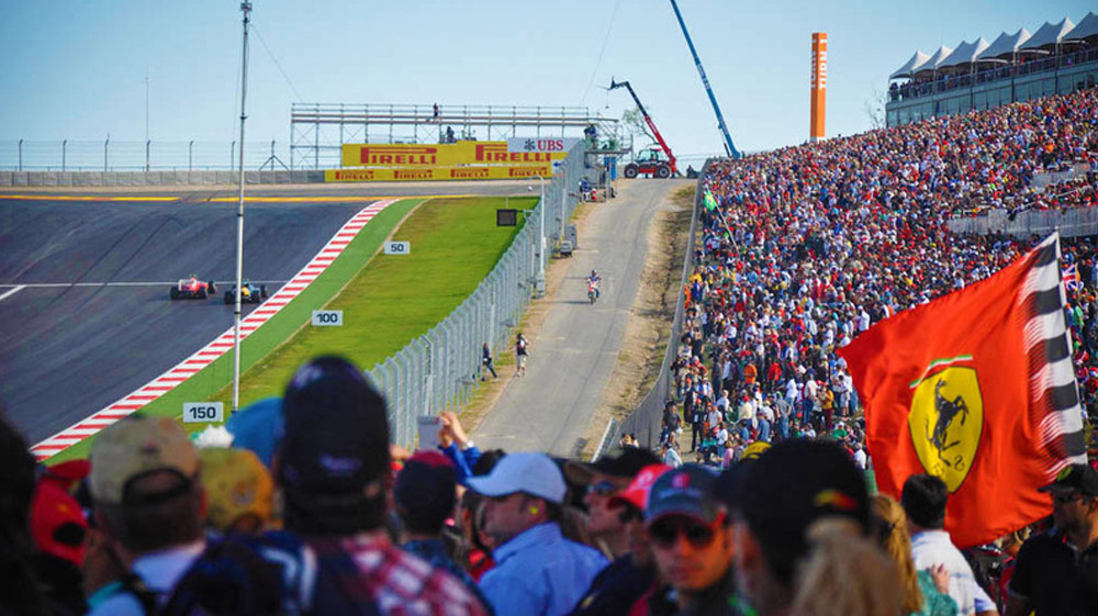 2018 F1 Usgp Tickets Turn 1 Official Ticket Package