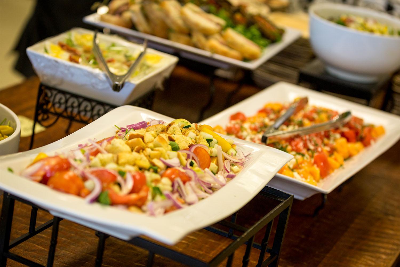 Belmont Experiences Hospitality food