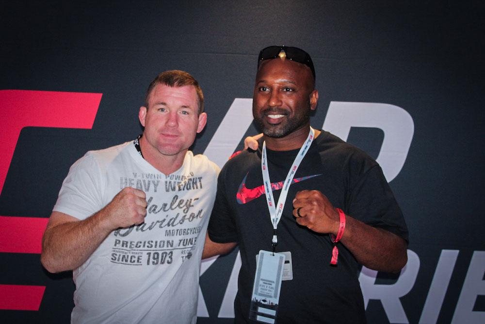 photo with UFC celebrity