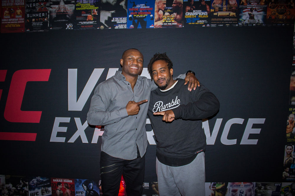 photo with UFC fighter