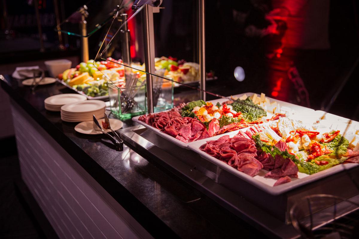 UFC Experiences Premium Hospitality Food Buffet