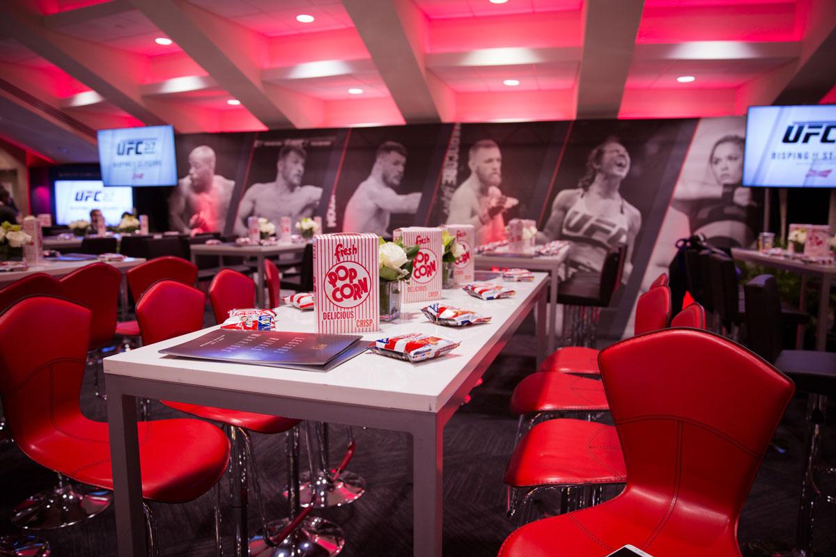 UFC Experiences Premium Hospitality Venue