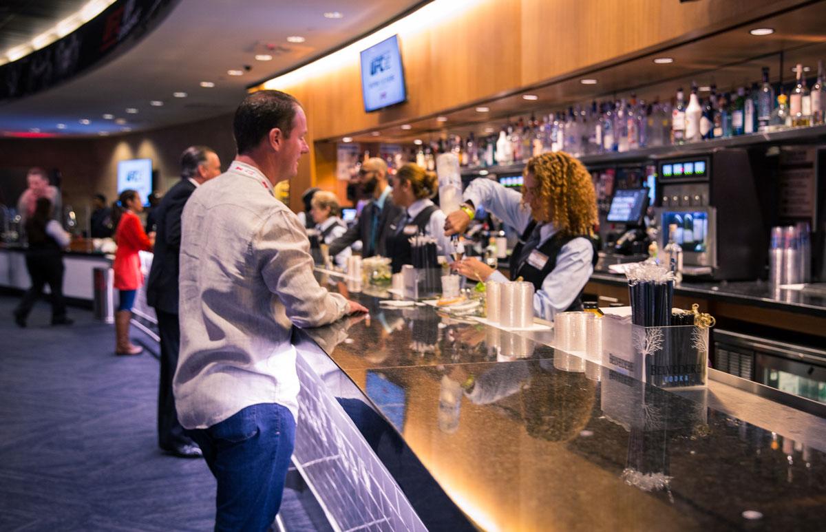 UFC Premium Hospitality Venue Bar